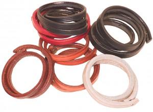 Bracelets Cuir Sellerie Double Tour