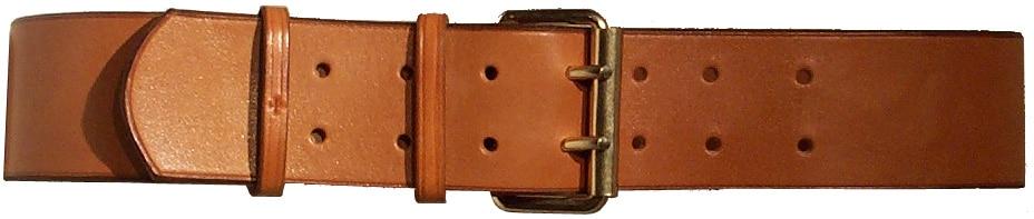 Ceinturon- Boucle à Rouleau Laiton- Largeur: 6 cm